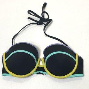 Victoria's Secret Size 32D Strappy Bikini Top